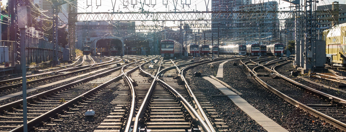 railways in the city