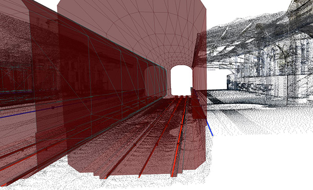 adding your own data to a cordel rail inspection scan